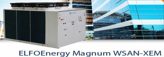 Тепловий насос ELFOEnergy Magnum HW WSAN-XEM