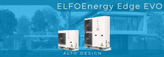 Серія нових моноблочних теплових насосів ELFOEnergy Edge EVO R32