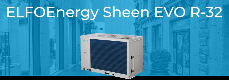 Моноблочний тепловий насос ELFOEnergy Sheen Evo (WSAN-YSI)