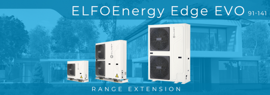 Моноблочні теплові насоси ELFOEnergy Edge EVO (WSAN-YMi 91-141)