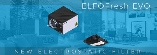 Електростатичний фільтр для ELFOFresh EVO (CPAN-YIN)