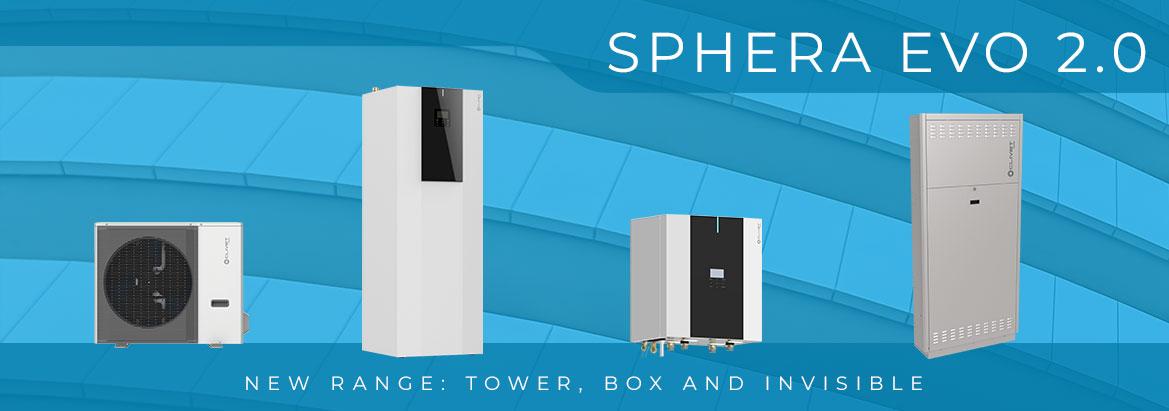 Нова серія обладнання SPHERA EVO 2.0 на базі фреону R-32